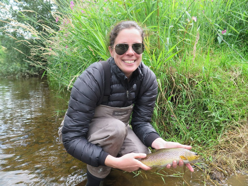 Rivers the eden angler for Fly fishing classes near me