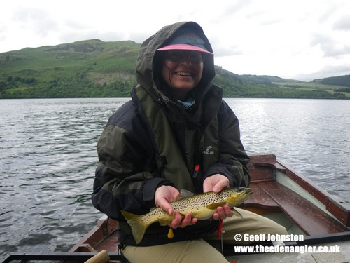 An Ullswater trout for Anita
