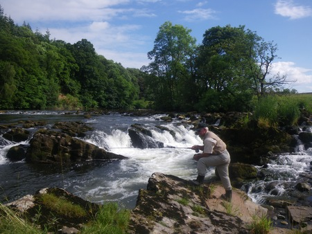 Fishing locations on the beautiful River Eden