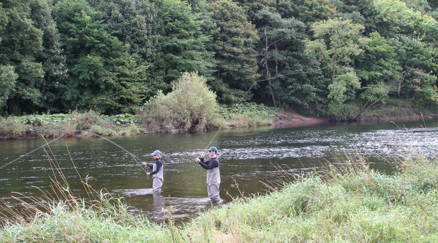 Fly casting tuition on the River Eden and lakes in Cumbria UK