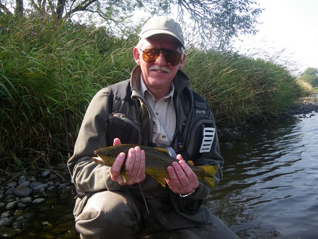 Great trout fishing on the River Eden