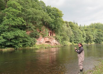 Guided fly fishing on the River Eden
