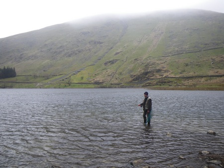 If you enjoy fishing in solitude and wild surroundings then Haweswater certainly fits the bill