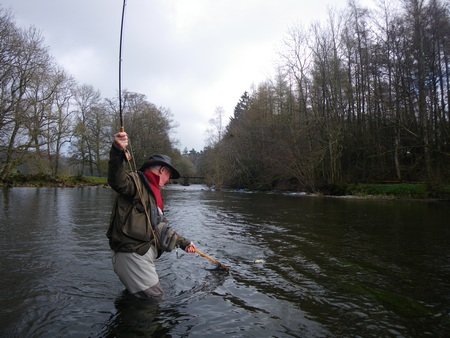 Great fishing locations on the River Eamont