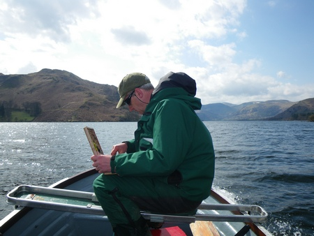 Fish from boat or bank ia available in the fantastic surroundings of Ullswater in the Northern Lakes District