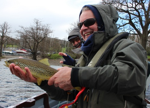 An Ullswater trout for Graham