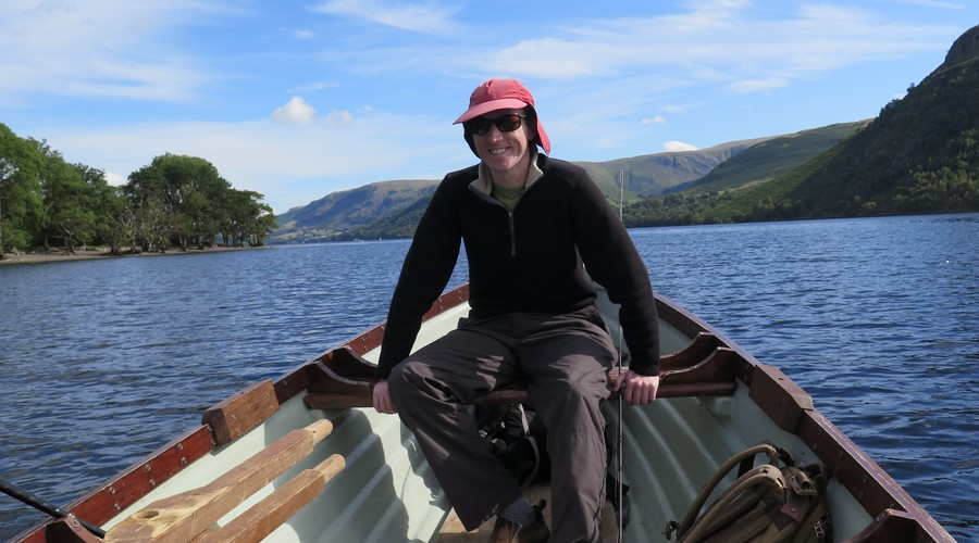 A day on Ullswater in the Lake District