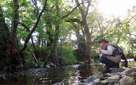 August fishing on Eden