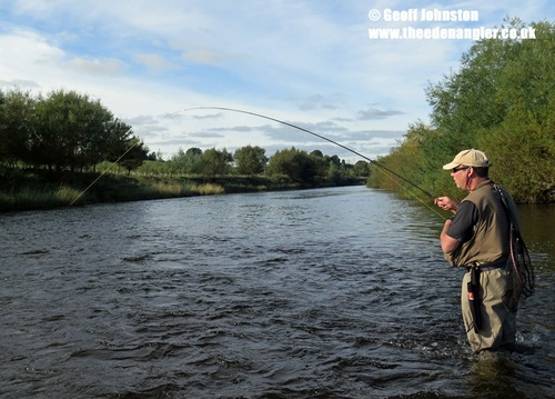 Martin is into his first River Eden Grayling