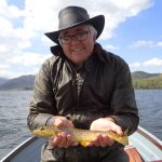 Colin with a nice Ullswater trout