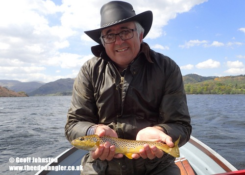 An Ullswater trout for Colin