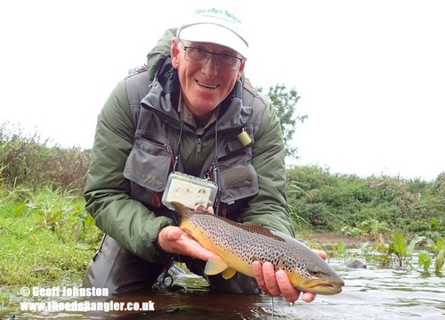 Another nice September fish is returned