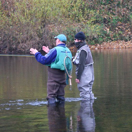 Tuition on all aspects of fly fishing