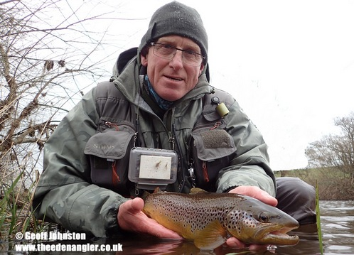 Another nice fish taken during a Large Dark Olive hatch