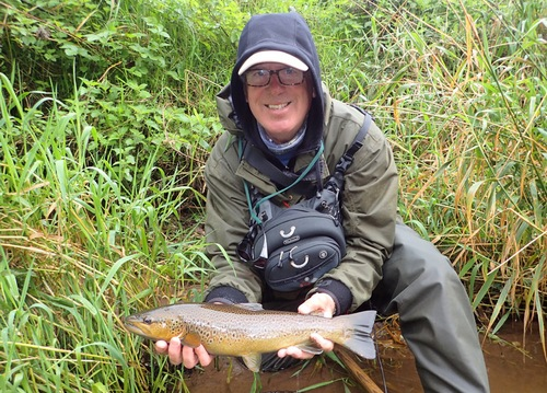 A cracking fish for Mike!