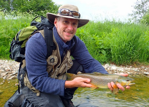 Keith with a river PB