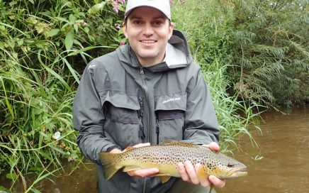 August in Eden, a nice fish for Pete!